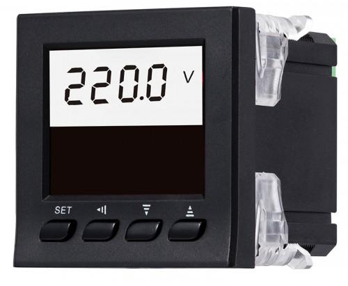 LCD单相电压表
