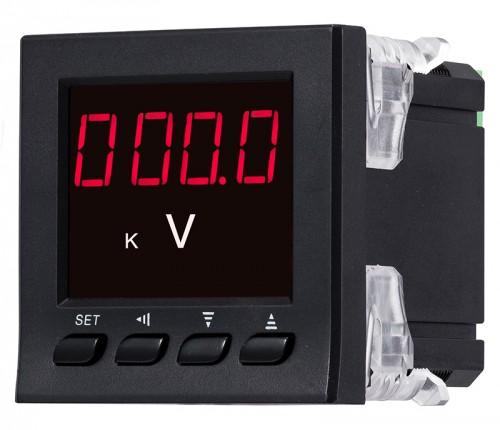 LED单相数显电压表